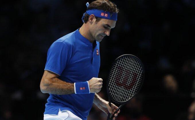 London - Prva pobeda Federera na završnom ATP turniru