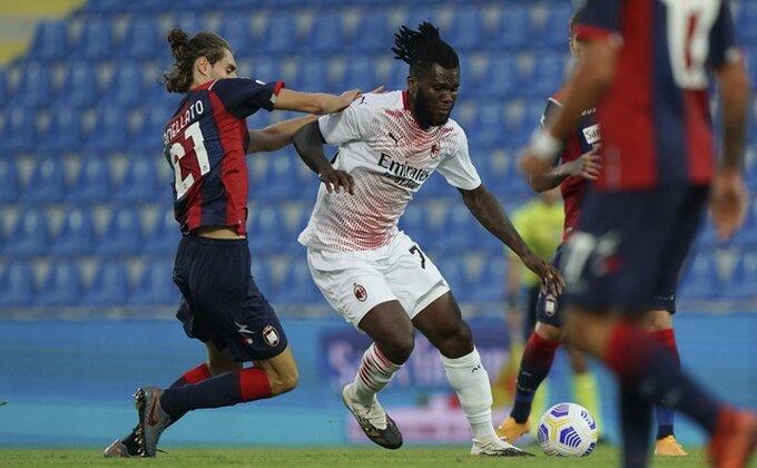''Rosoneri'' + Napolitanci = 8:0! Vulić debitovao protiv Milana!
