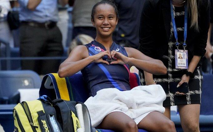 Dolazi nova generacija, Lejla u polufinalu US opena!