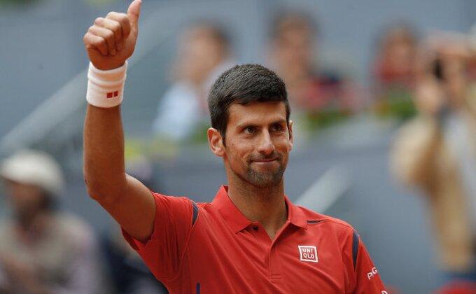 Madrid - Novak 'streptomicin' za Raonića, sledeći je Nišikori