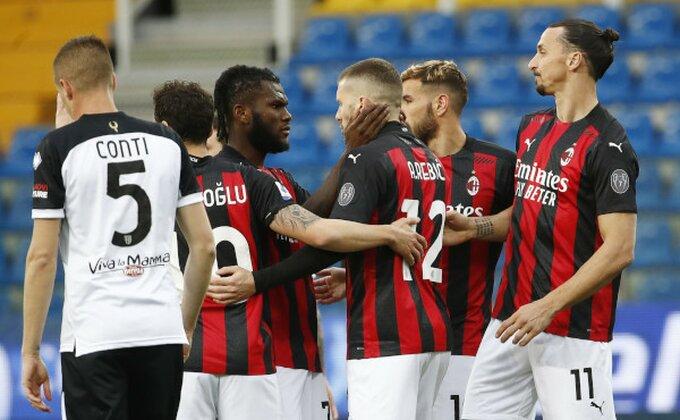 Milan prekinuo lošu seriju i probio se na drugo mesto
