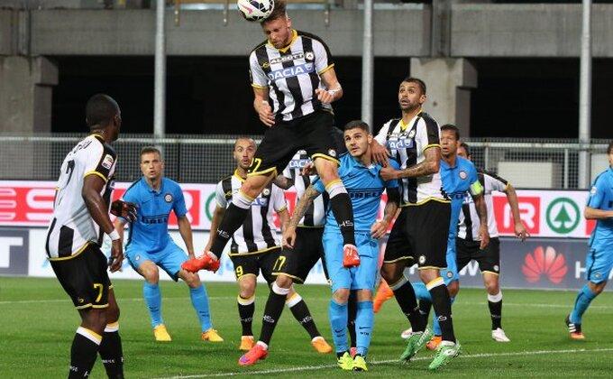 Borba Intera i Juventusa za fudbalera Udinezea