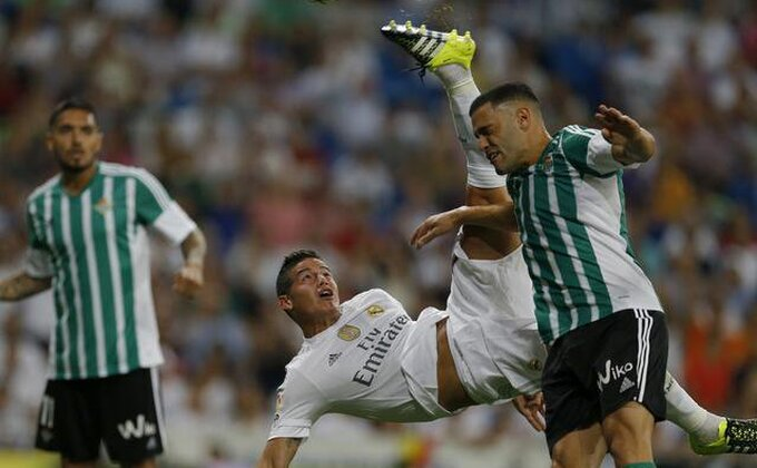 Peh za Real, Kolumbijac se vratio povređen