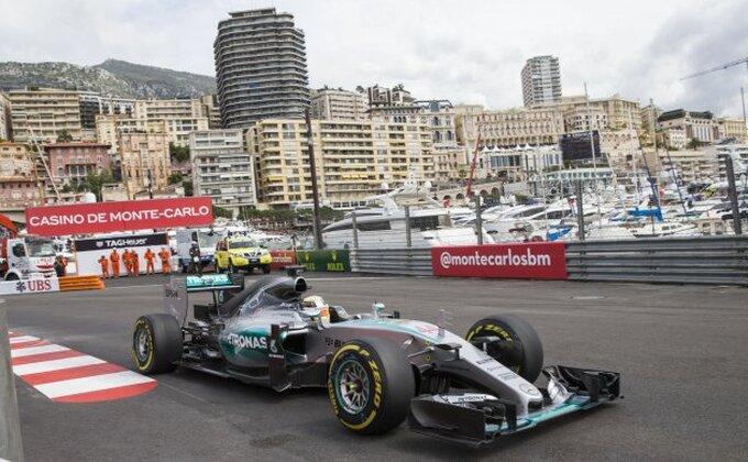 Monako - Hamilton najbrži na prvom treningu