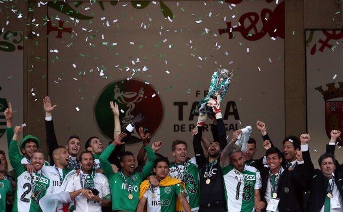 Portugal - Drama u finalu Kupa, Sportingu trofej!