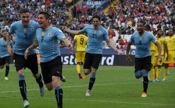 Rodrigez za prvenac Urugvaja!