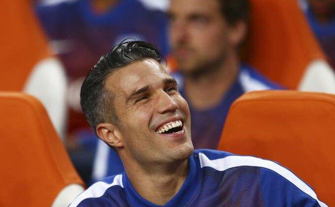 Dobre vesti - Van Persi nije ozbiljnije povređen!