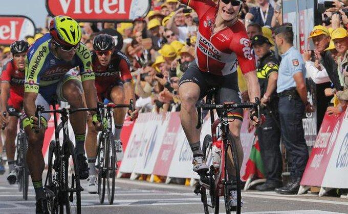 Grajpel pobedio u drugoj etapi Tur de Fransa!