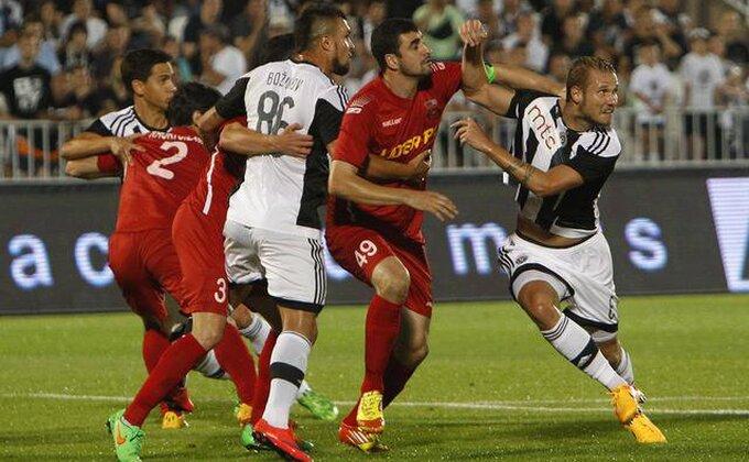 Da li je Partizan oštećen za penal?