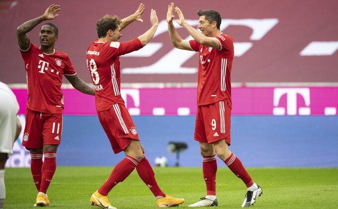 Poluvreme - Bajern prokockao 2:0, 20. gol Levandovskog posle penala kakvog dugo niste videli!