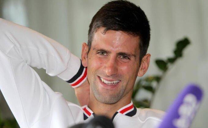 Novak - Majstorski potez uvek treba proslaviti, čak i na treningu!