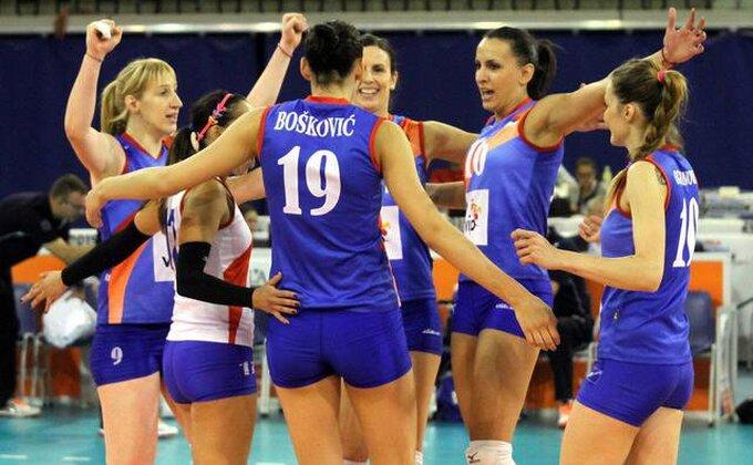 Srpkinje deklasirale Island na startu kvalifikacija za SP