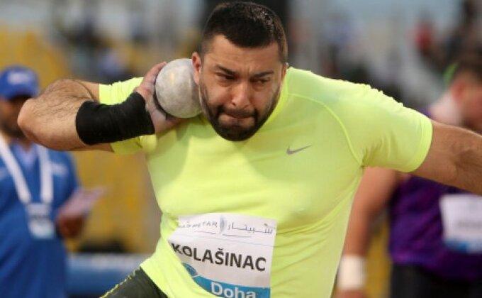 Kolašinac sa 20,74 metara pobedio u Slovenskoj Bistrici