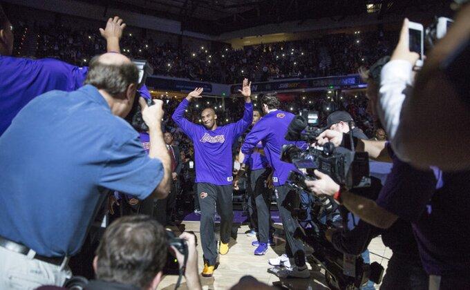 NBA top 10 - Kobijevo zakucavanje NIJE najbolji potez