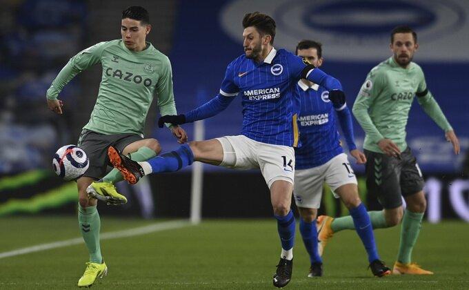 Novi remi Evertona, ostao je iza Totenhema