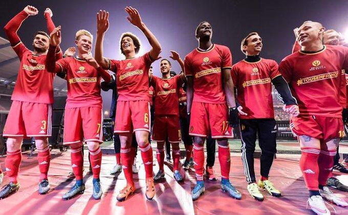 Na koju foru je Belgija prva na FIFA rang listi?