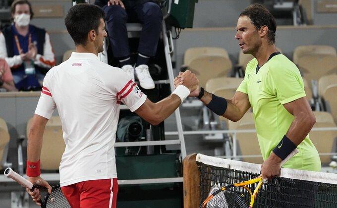 Juče Kirjos, danas porodica Nadal - Novak simpatičan rivalima