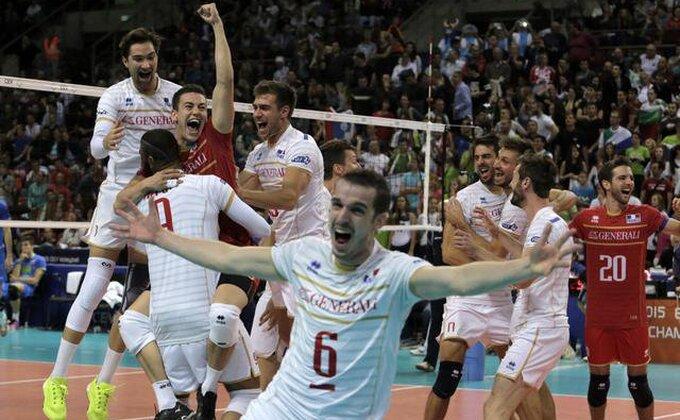 Slovenci stali na korak od senzacije, Francuzi na krovu Evrope!