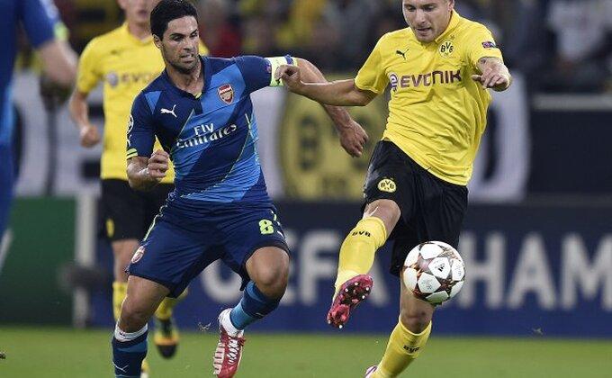 Arteta priznaje: ''Dortmund bio bolji''