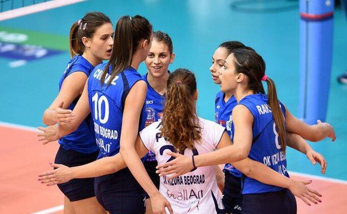 Odbojkašice Vizure u osmini finala Kupa CEV