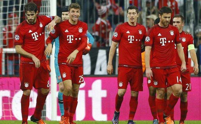 Liga šampiona - Bajern zgazio Vengera, Vilijan spasitelj, Roma ostala u igri, Rusi u top 16!
