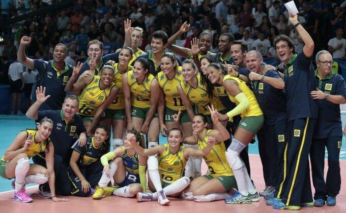 SP - Odbojkašice Brazila osvojile bronzu