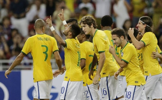 Brazil se igrao s Turcima u Istanbulu