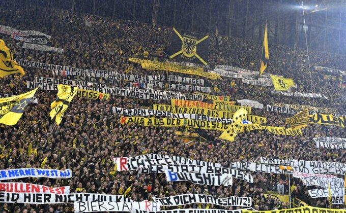 FS Nemačke zabranio ulazak na stadione za 88 navijača Dortmunda!