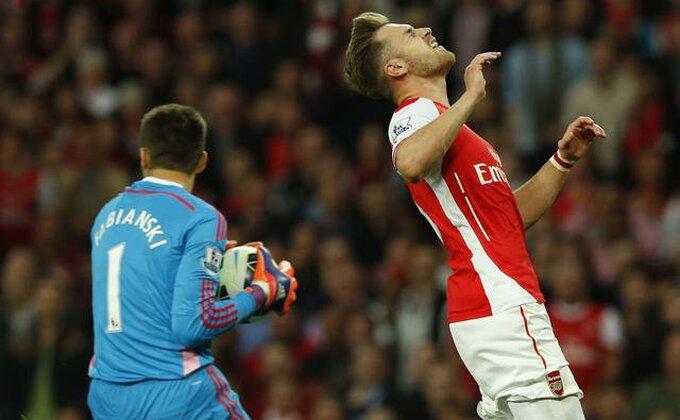 Arsenal oštećen na startu!