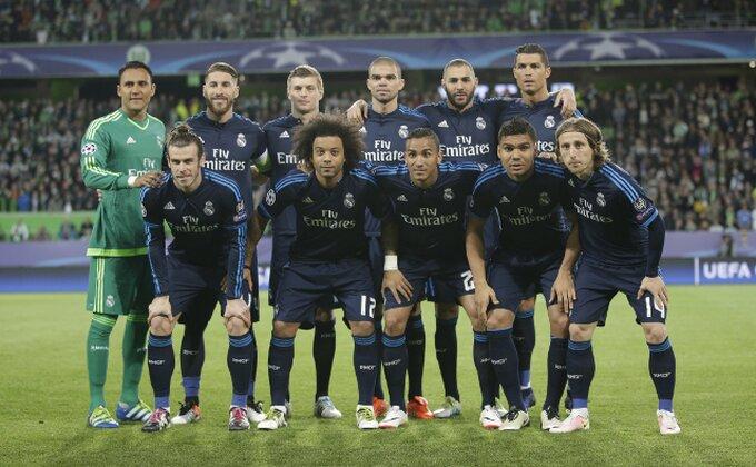 Odbrana Reala bez oduzete lopte u prvom poluvremenu
