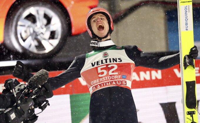 Gajger pobednik takmičenja u ski letovima u Planici