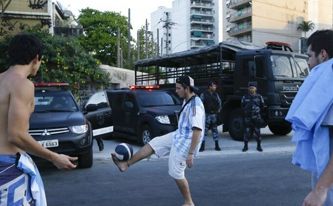 Brazilac uhapšen u trening-kampu Argentine!