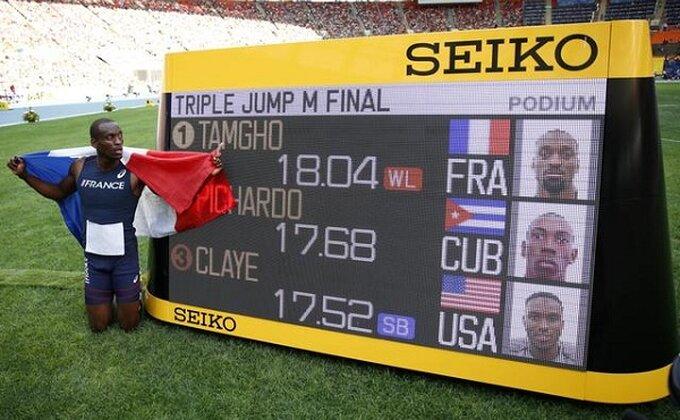 Tedi Tamgo osvojio zlato u troskoku na SP