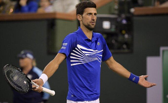 IV - Novak igrao samo 15 minuta, nastavak večeras