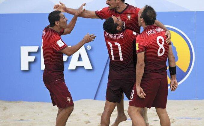 Fudbal na pesku - Portugalci drugi finalisti!