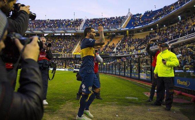 Karlos Tevez nastavlja da trese mreže
