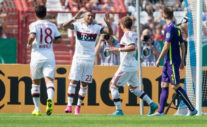 Nemačka, Kup - Vidalov prvenac za Bajern, prošao Dortmund, ispao Hamburg