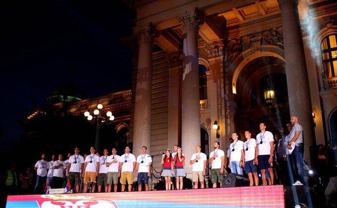 Srbija dočekala šampione sveta!