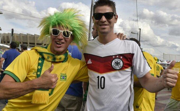 Brazil - Nemačka (Sastavi)