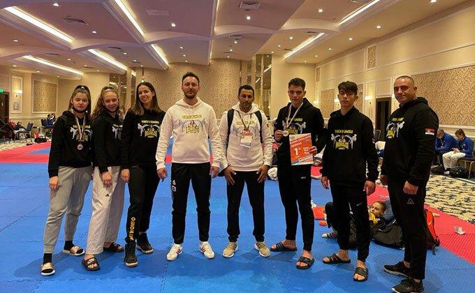 Sjajni rezultati iz Sofije, tekvondisti Herkulesa osvojili  dve medalje
