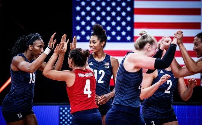 Tripleta Amerikanki u Ligi nacija