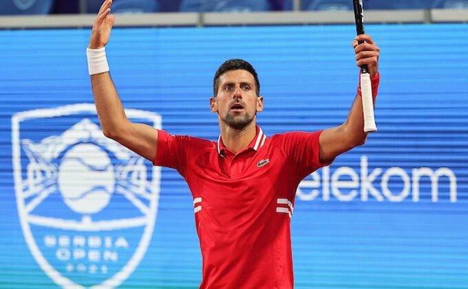 Srpski derbi na startu turnira u Beogradu, Novaku otvoren put do finala