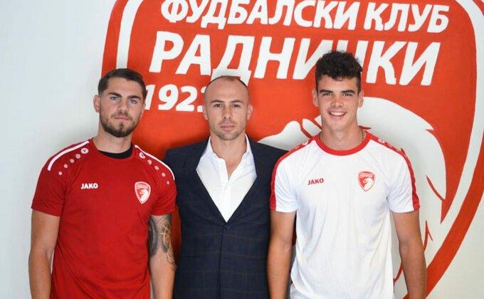 Kragujevčani jači za dva pojačanja, sin bivšeg golmana Partizana i dosadašnji igrač Partizana!