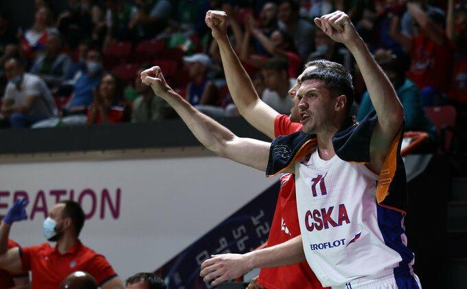Uniks bez šansi, CSKA na korak do odbrane titule