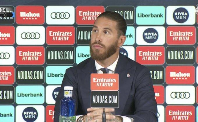 """Ramos otkrio razlog odlaska, pa poručio:""""Barselona nikad"""""""