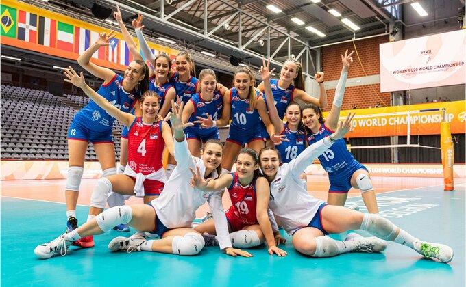 Juniorke Srbije poražene od Italije, ali idu u polufinale