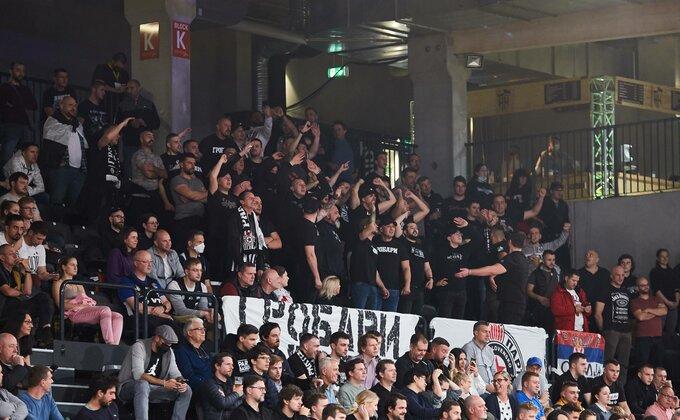 """""""Partizan jedna od najboljih ekipa Evrope, Grobari zapanjili Nemce""""!"""