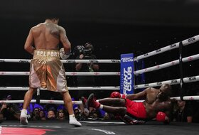 Tuga i bes, u šta se boks pretvorio, Evander Holifild postao vreća za udaranje...
