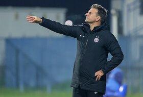 Trener Partizana nije bio pričljiv posle nove pobede