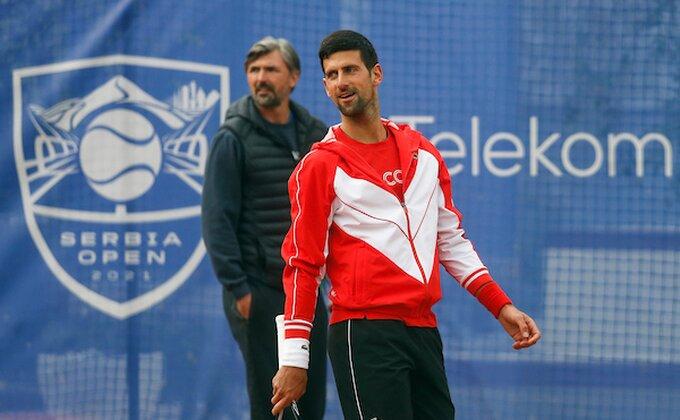 Serbia open - Novak trenirao, ovo je program za sutrašnji dan!